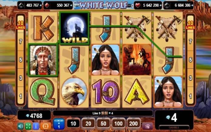 Džoker-online casino bonus-the white wolf