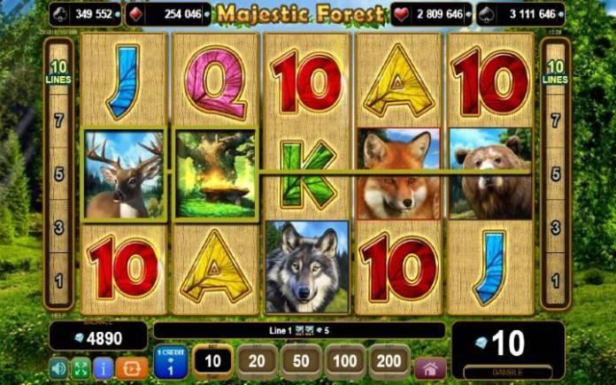 džoker-online casino bonus-majestic forest