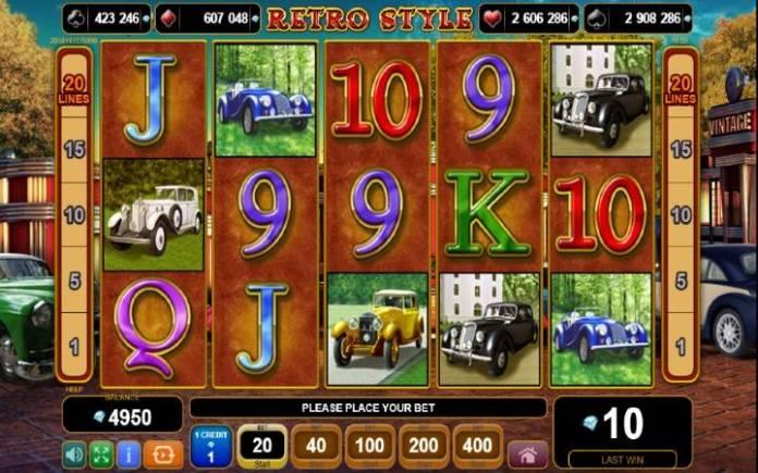 retro style-egt-online casino bonus
