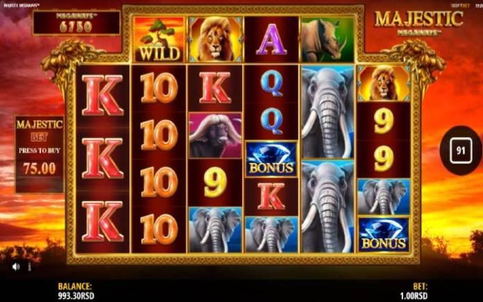 Džoker-online casino bonus-majestic megaways-iSoftBet