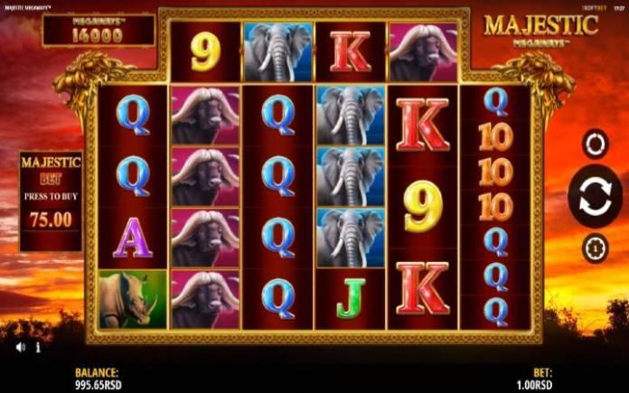 Majestic Megaways-online casino bonus-iSoftBet