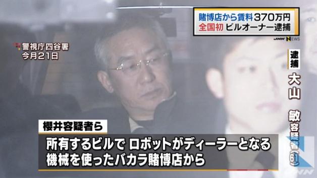 賭博店から賃料受け取った疑い、ビルオーナー逮捕_TBS系(JNN)__-_Yahoo_ニュース 2
