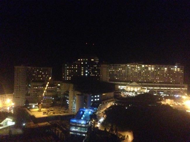 ゲンティンハイランドカジノ夜景