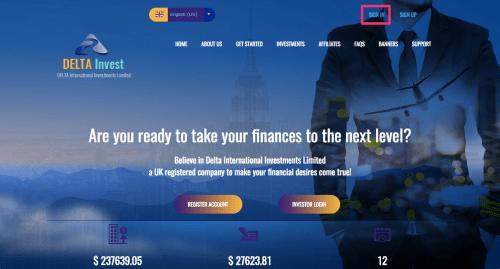 DELTA_Invest(デルタインベスト)登録方法・入金方法・出金方法