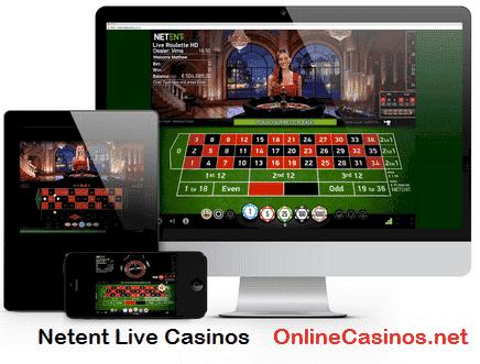 Netent Live Casino Play View