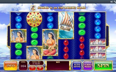 Sinbads Golden Voyag Online Slot