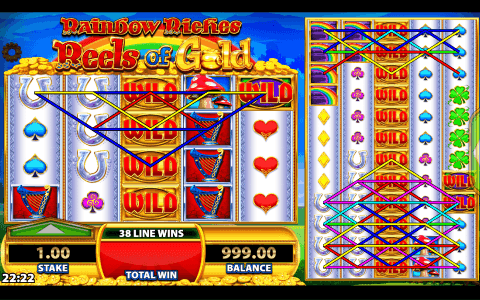 Rainbow Riches Reels of Gold View