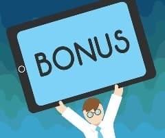 Bonuses Sign