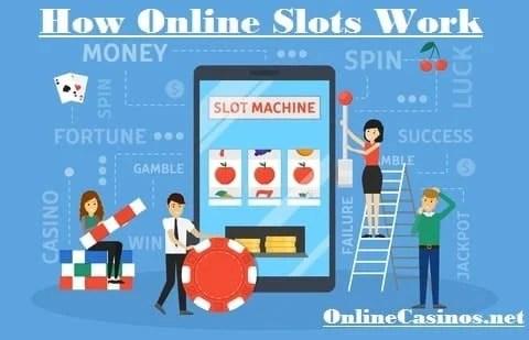 how do online slot