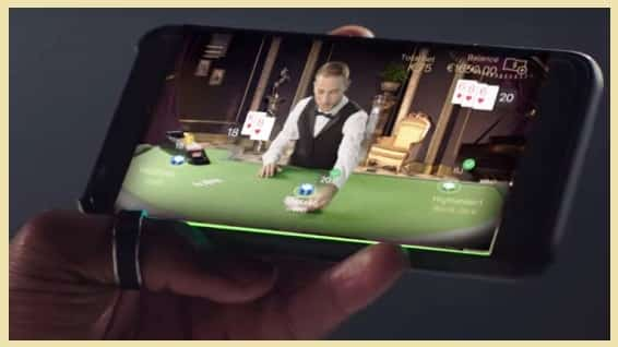 Playing Live Blackjack at Netent
