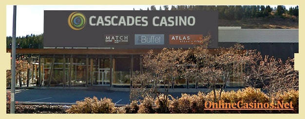 Cascades Casino Kamloops View
