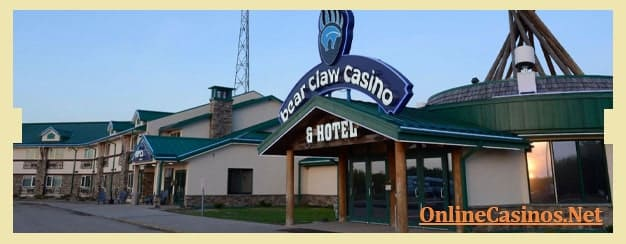 Bear Claw Casino & Hotel View