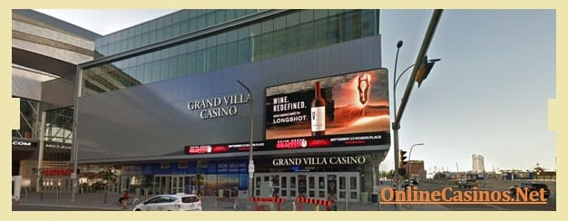 Grand Villa Casino Edmonton View