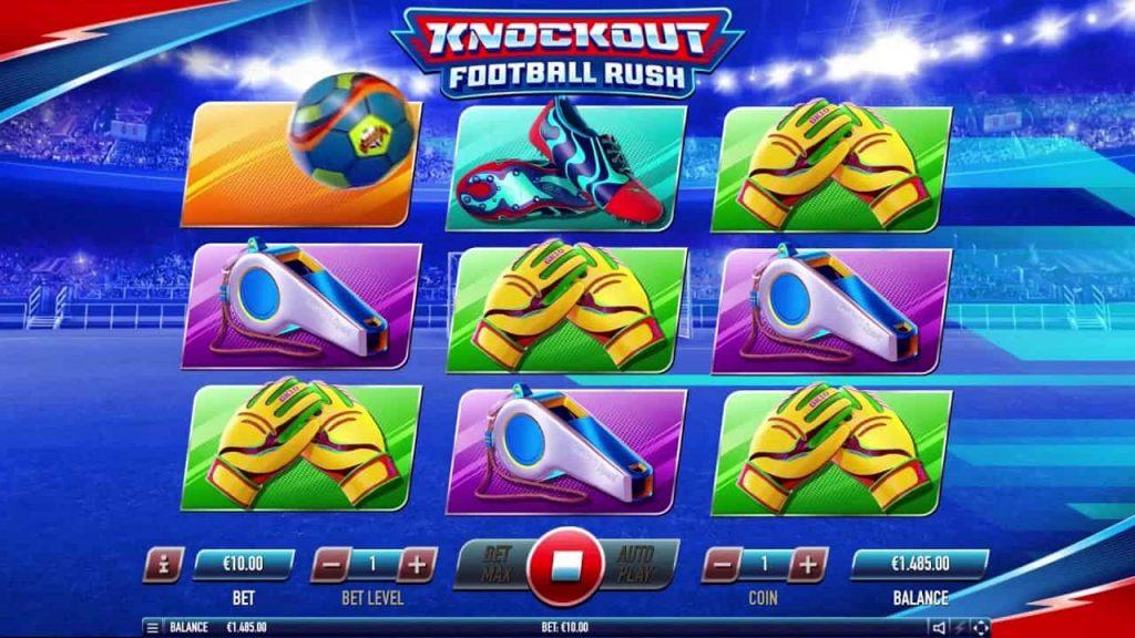 Knockout Football Rush Online Slot