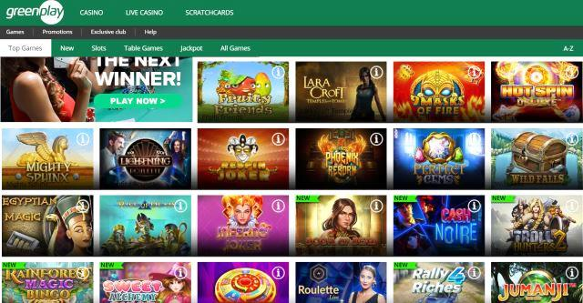 Green Play Casino Games