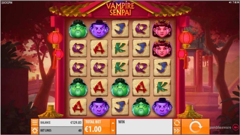 Vampire Senpai Online Slot