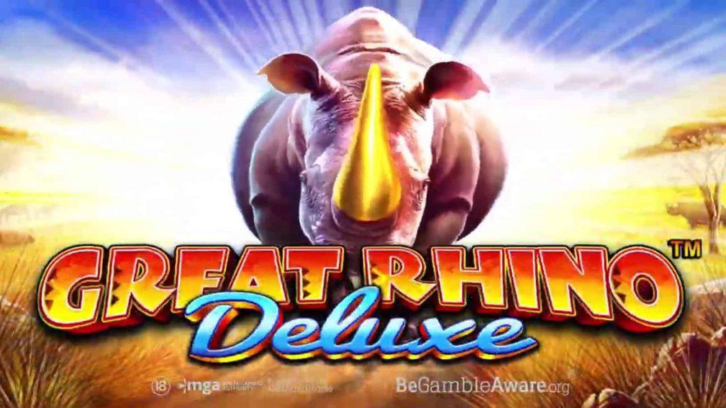 Great Rhino Deluxe Online Slot