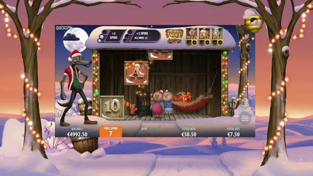 Big Bad Wolf Christmas Online Slot