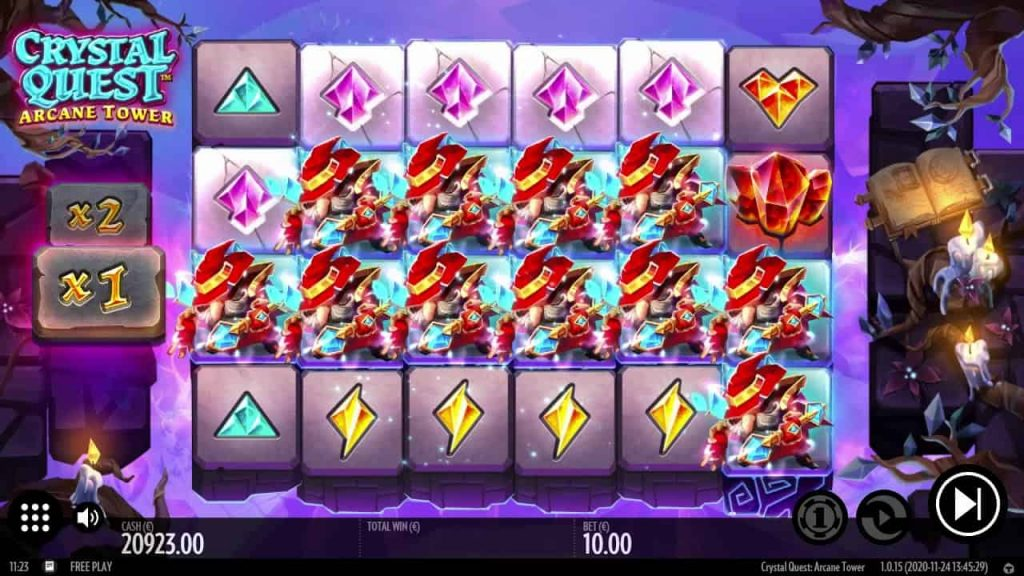 Crystal Quest: ArcaneTower Online Slot