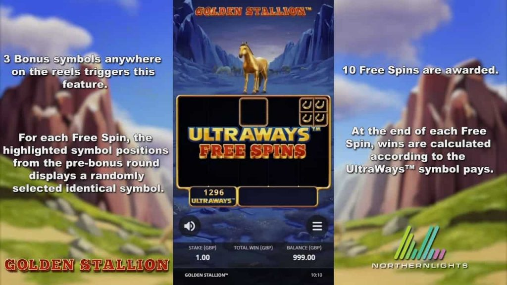 Golden Stallion™ Ultraways™ Online Slot