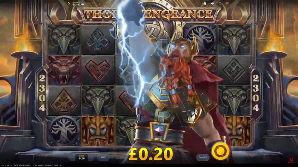 Thor's Vengeance Online Slot