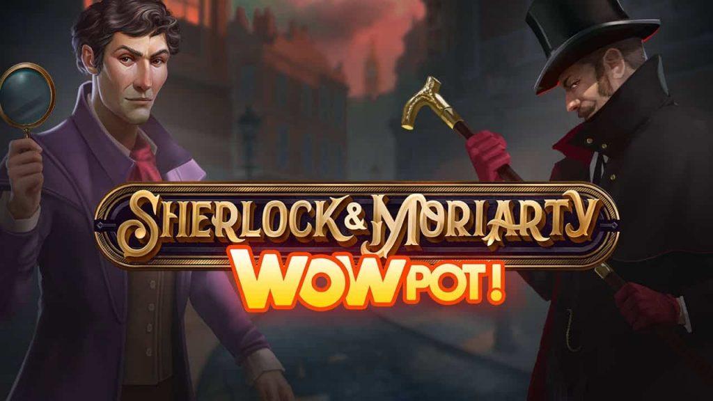 Sherlock and Moriarty Wowpot Online Slot