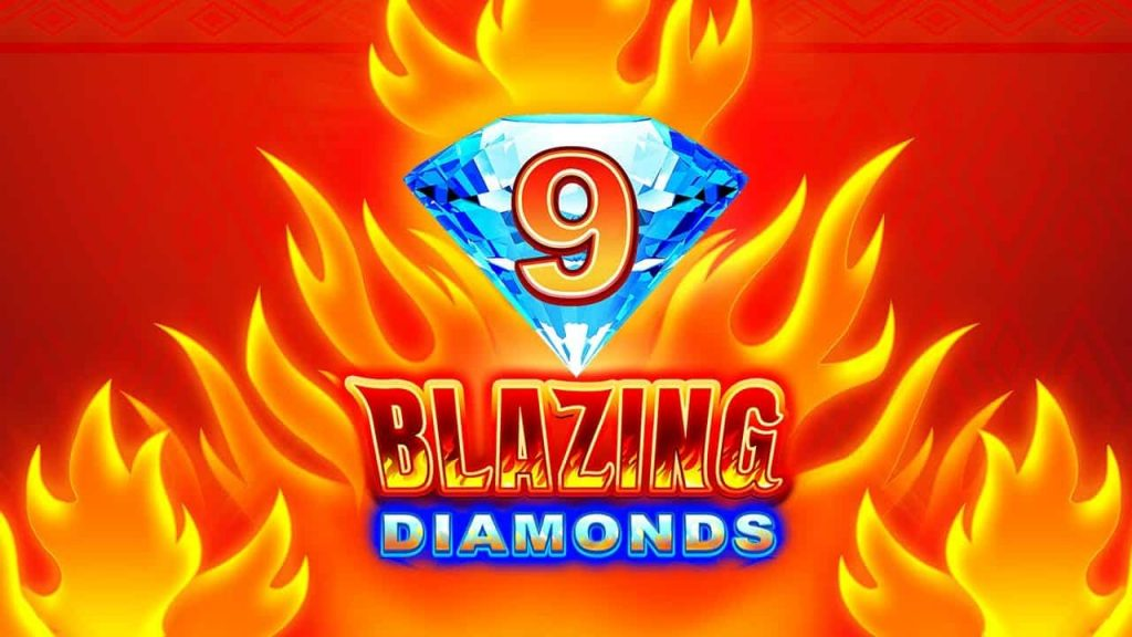 9 Blazing Diamonds Online Slot