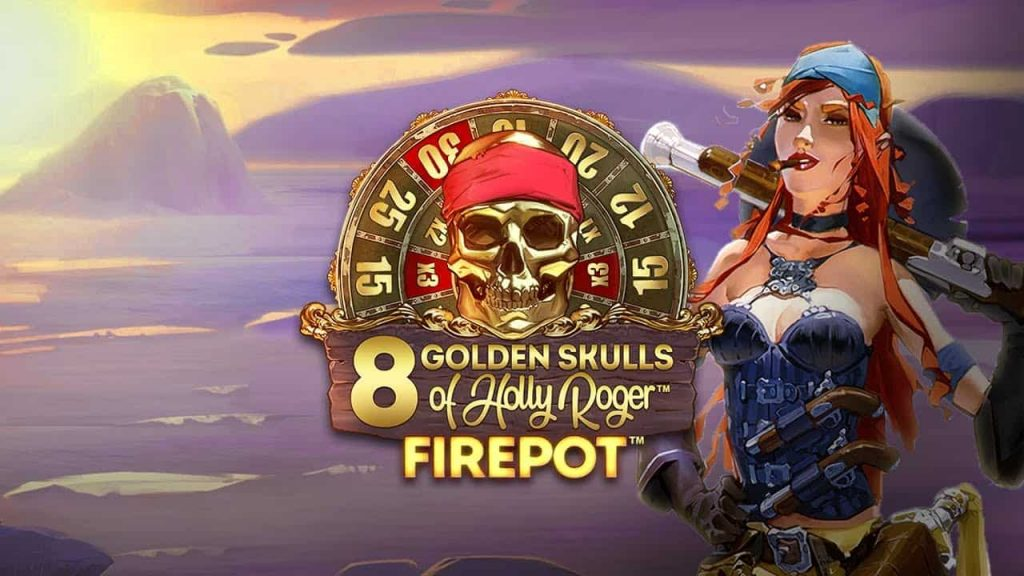 8 Golden Skulls of Holly Roger™ Online Slot