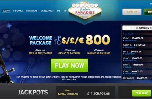 Jackpot Paradise Review