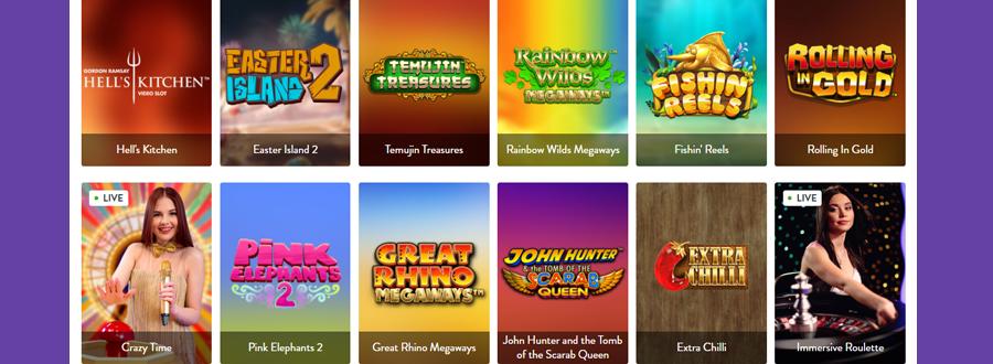 Wishmaker casino games