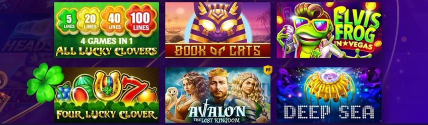 Bgaming maakt zowel moderne als klassieke gokkasten
