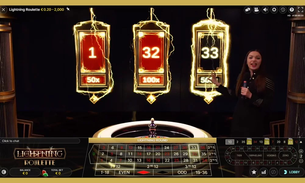 Lightning roulette is het spel voor jou was je een echte liefhebber bent van live roulette spelen