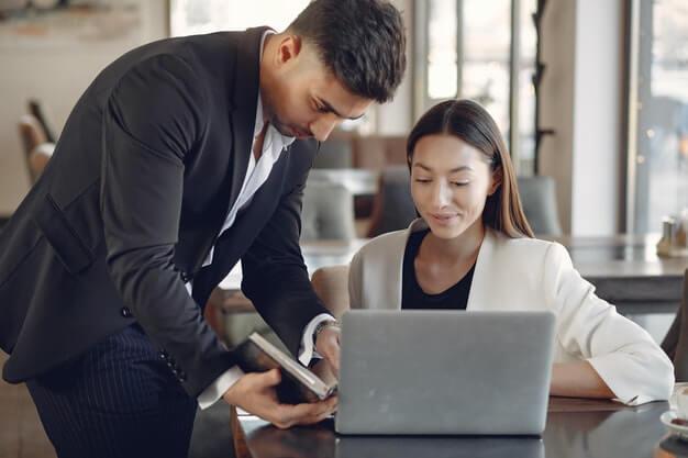 Manual checks and online checks