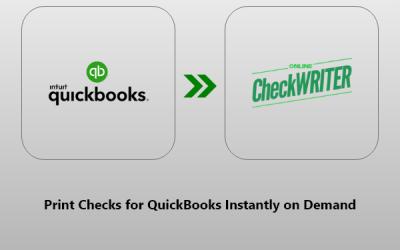 Checks for QuickBooks