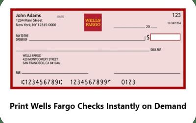 Wells Fargo Checks