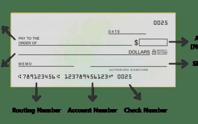 Write a Check
