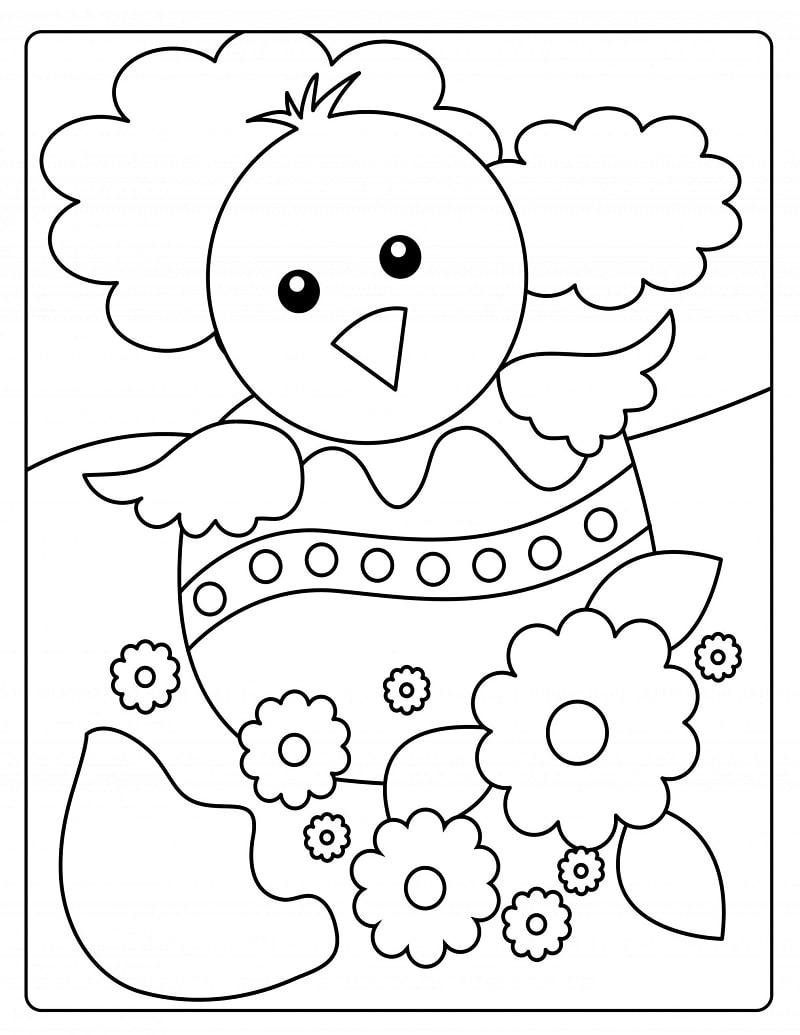 Top 20 Printable Easter Coloring Pages Online Coloring Pages