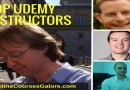 Top Udemy instructors