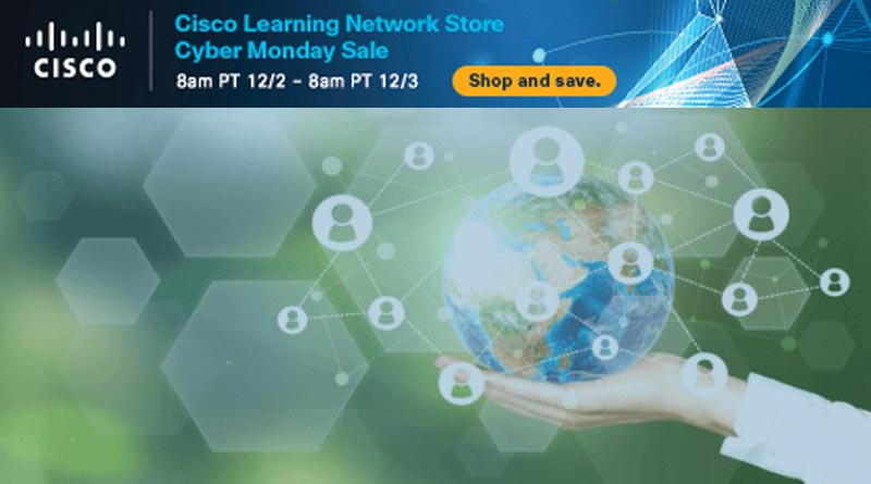 Cisco Learning Network Store Cyber Monday 2019 sale