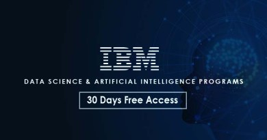 ibm data science and AI programs free 30 days
