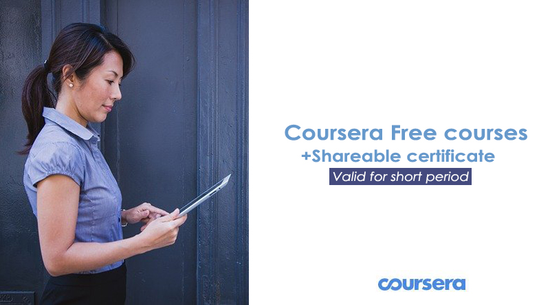 100+ Coursera Courses Free Until 31st July – View the list