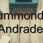 11 Livros de Carlos Drummond de Andrade para Baixar em PDF