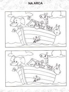 50 Atividades Biblicas Da Arca De Noe Para Imprimir E Colorir