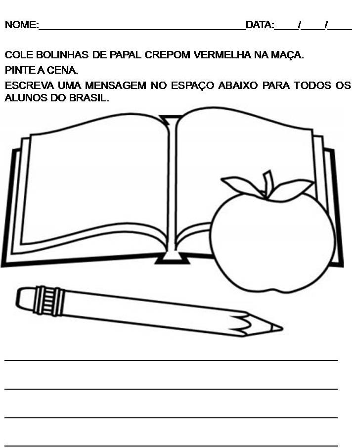 50 Atividades Do Dia Do Estudante Para Imprimir Educacao