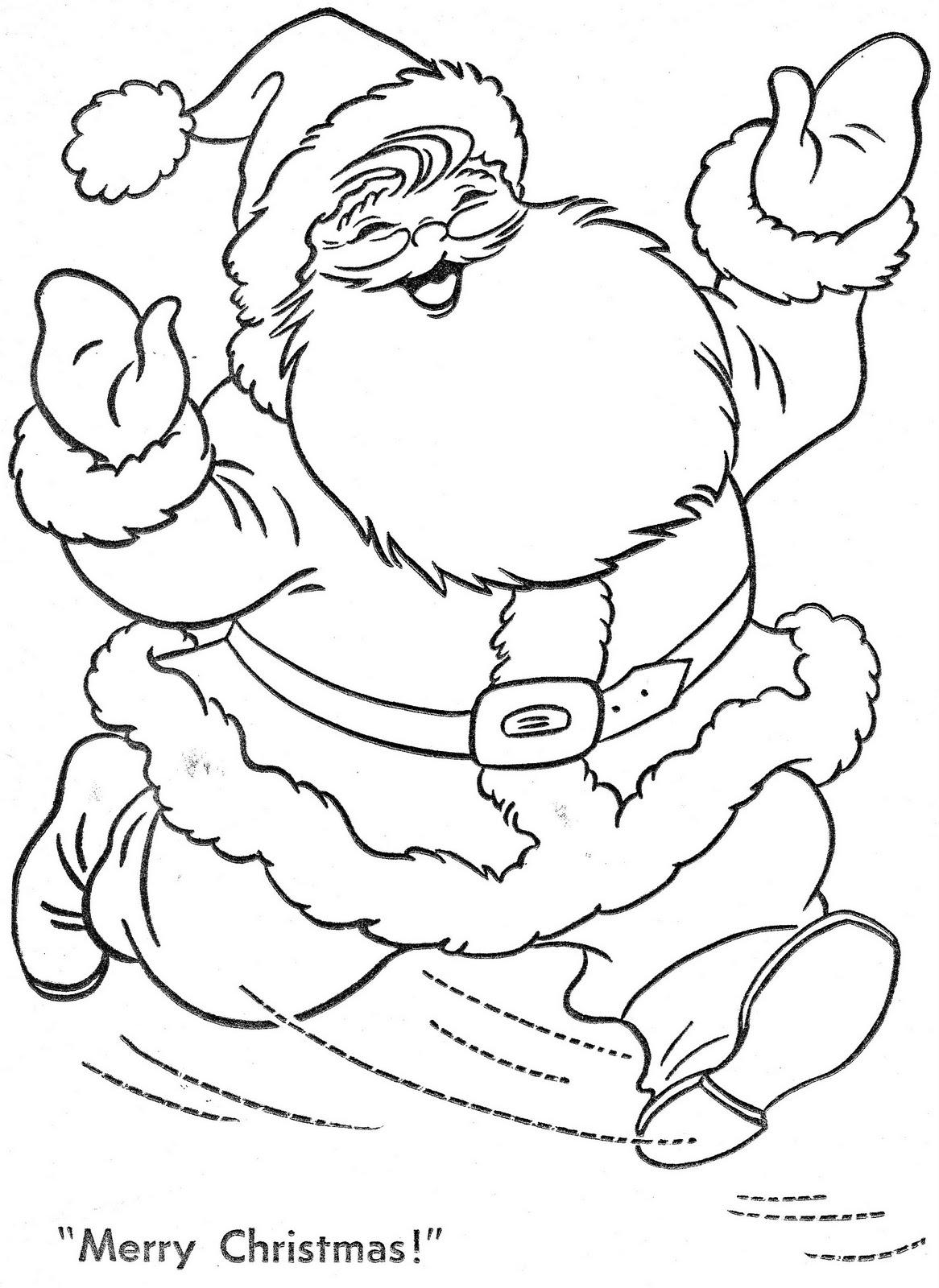 30 Desenhos De Papai Noel Para Colorir E Imprimir Online