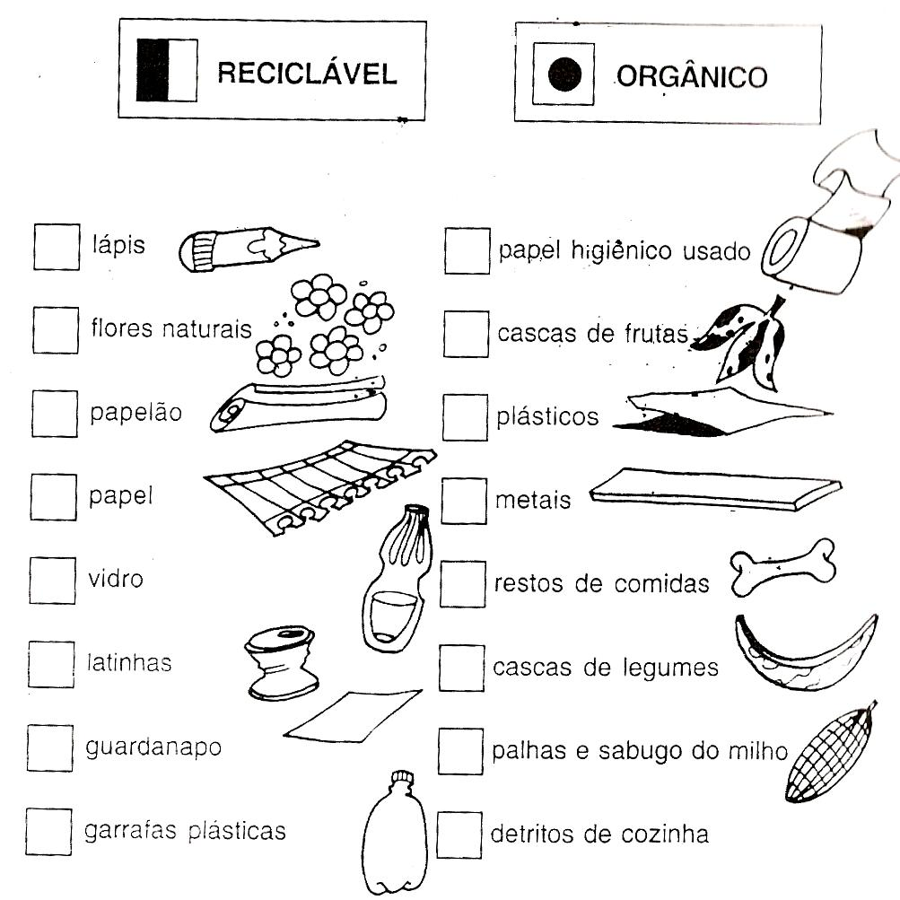 40 Atividades Sobre Reciclagem Do Lixo Para Imprimir Online