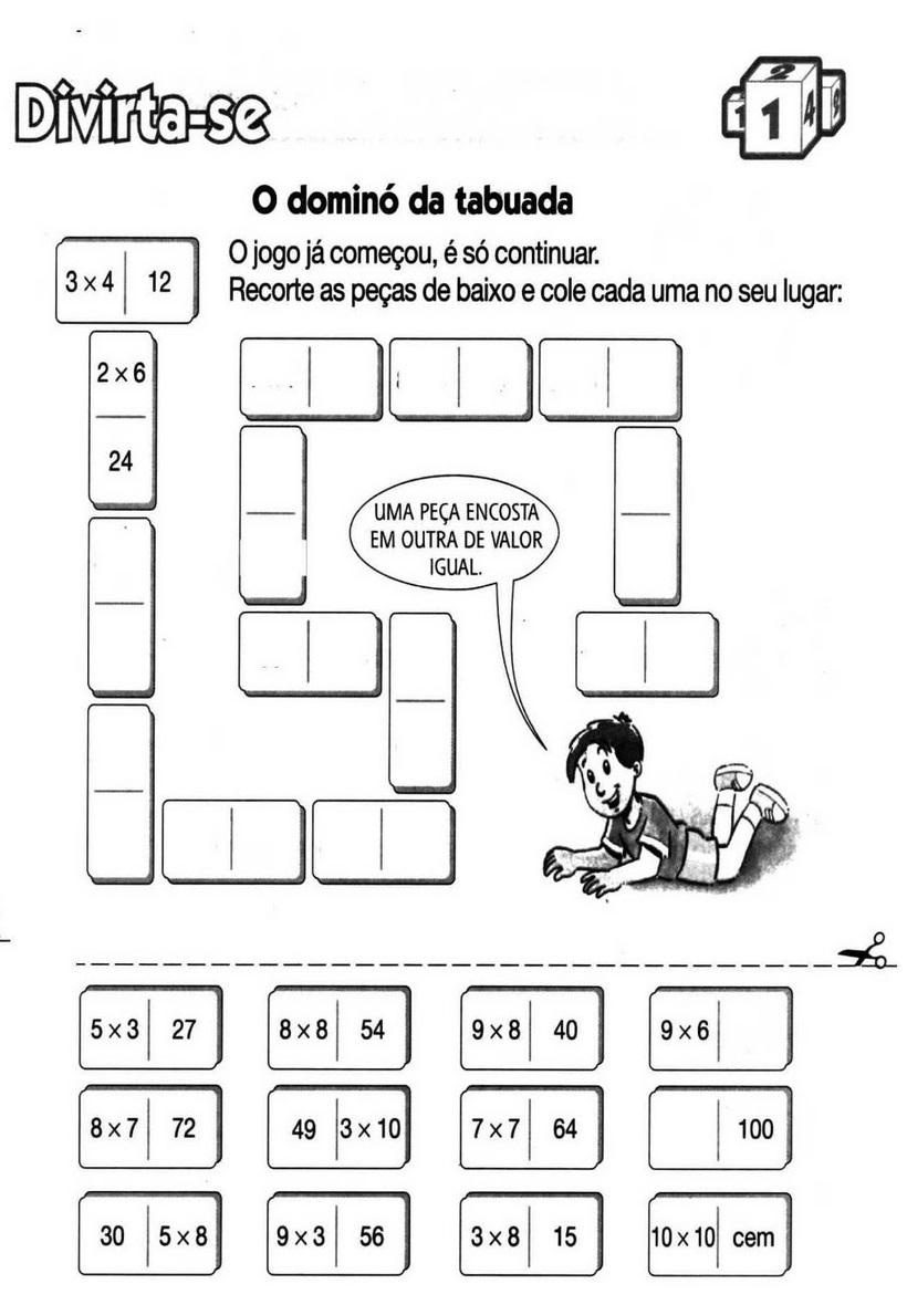 30 Atividades Com Domino Para Imprimir Online Cursos Gratuitos
