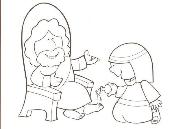 30 Desenhos Sobre Mulheres Da Biblia Para Colorir Online Cursos