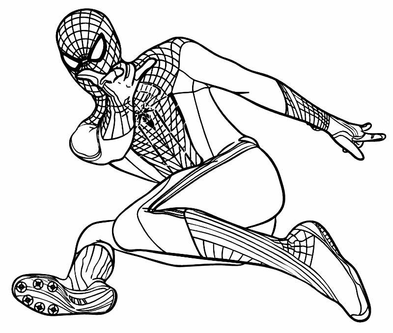 40 Desenhos Do Homem Aranha Para Colorir Online Cursos Gratuitos