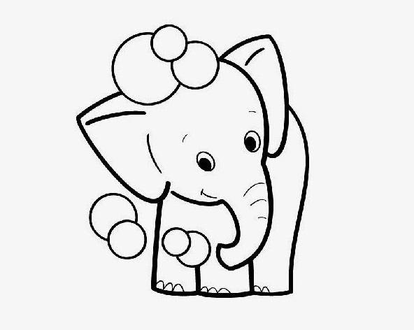 20 Desenhos De Elefante Para Colorir E Imprimir Online Cursos